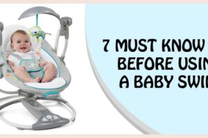 baby swing using tips
