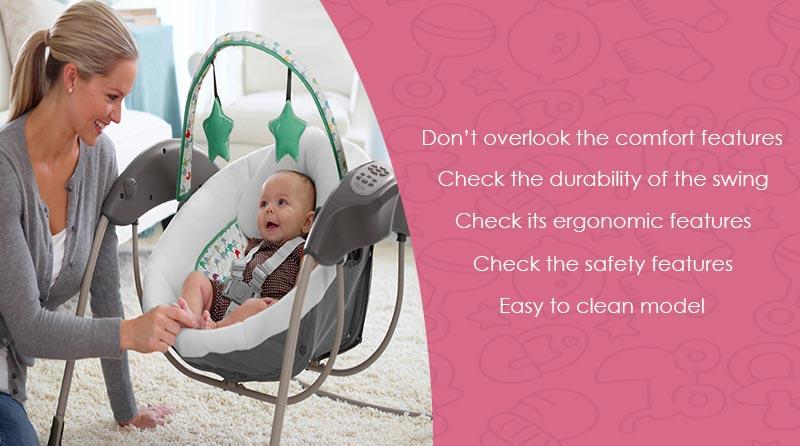 baby swing using tips