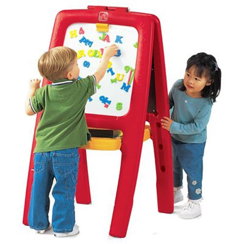 Step2 Easel for Two | Kids Double-Sided Art Easel