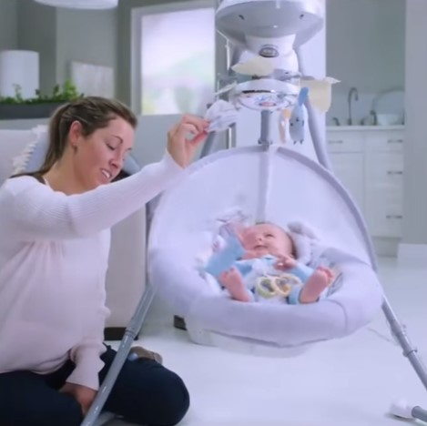 What's the Right Age for a Baby to Use a Swing