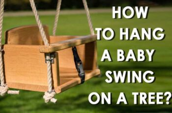 hang a baby swing on a tree